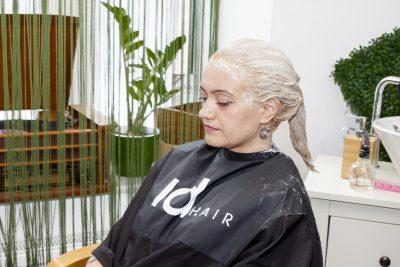 vopsire blond rece aplicare vopsea pe lungime 2